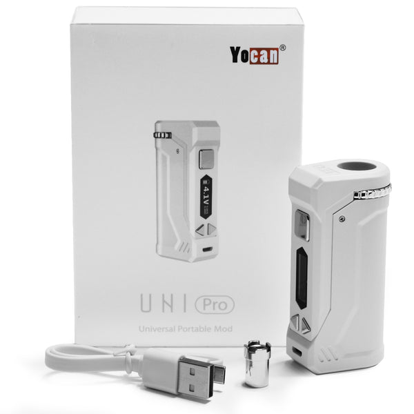 White Yocan Uni Pro - Unit Contains