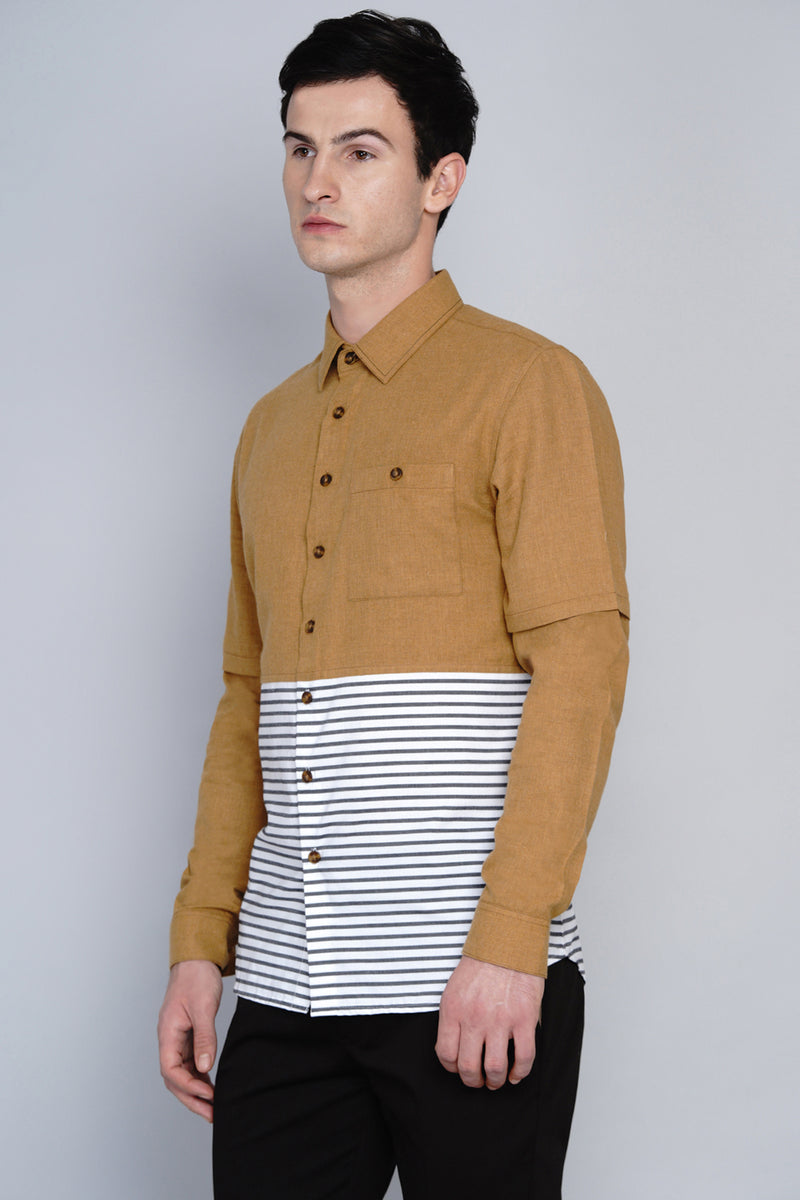KARLSTAD- CUT AND SEW SHIRT