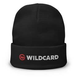 Wildcard Embroidered Beanie