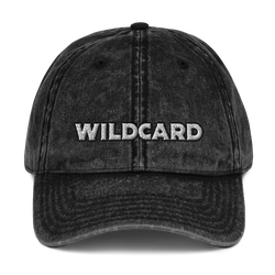 Wildcard Vintage Cotton Twill Cap