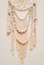 Load image into Gallery viewer, Handcrafted macrame elegant navajo dreamcatcher wallhanging