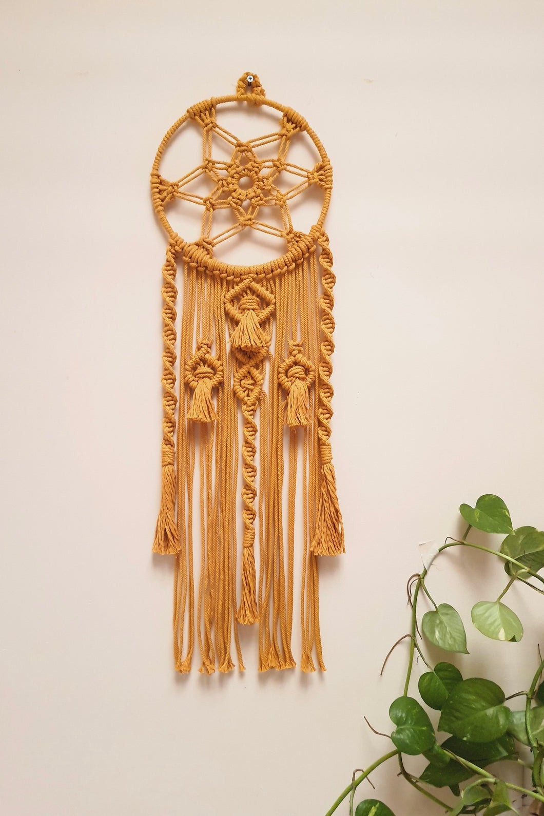 Handcrafted Macrame 'Sunrise' Dreamcatcher