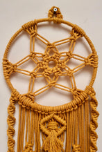 Load image into Gallery viewer, Handcrafted Macrame 'Sunrise' Dreamcatcher Wallhanging