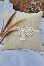 Load image into Gallery viewer, Handcrafted Macramé Single Tassel Adjustable Cushion Belts (Set of 2)