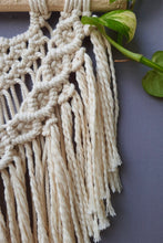 Load image into Gallery viewer, Handcrafted Macrame Boho Wallhanging