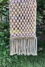Load image into Gallery viewer, Handcrafted Macrame Tote Handbag