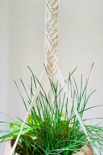 Load image into Gallery viewer, Handcrafted macrame classic plant hanger