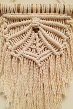Load image into Gallery viewer, Handcrafted Macrame rays of hope wallhanging