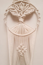 Load image into Gallery viewer, Handcrafted macrame tree of life plant hanger