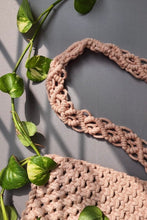 Load image into Gallery viewer, Handcrafted Macramé Detachable Chunky Sling Bag