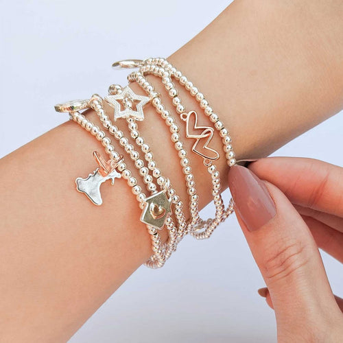 Breichled Joma – A Little Big Heart Small Country | Joma Jewellery Bracelet – A Little Big Heart Small County