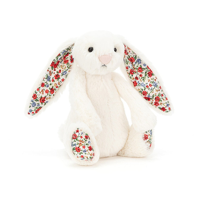 Bwni Bach Blodeuog Hufen | Jellycat Small Blossom Cream Bunny