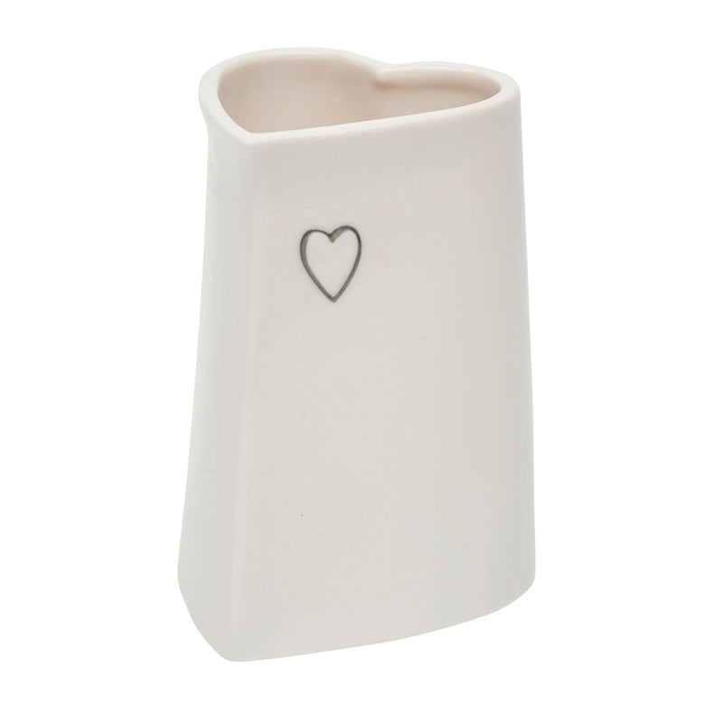 Fâs Siap Calon Bach | Small Heart Shaped Vase