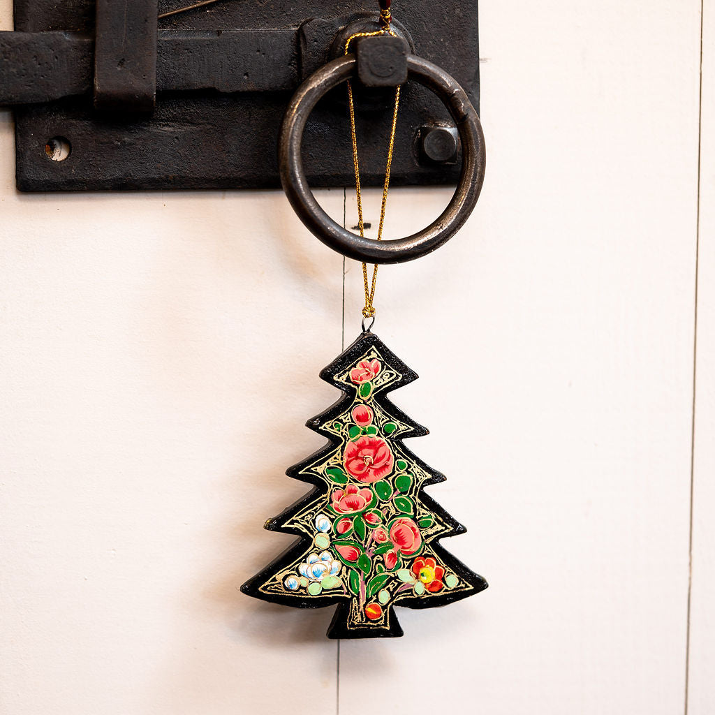 Indian 11 Floral Hanging Christmas Tree