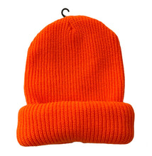Load image into Gallery viewer, Kandykorn X Slimyburger - Neon Orange Slimyburger X Nirvana Smiley Ski Mask/Beanie