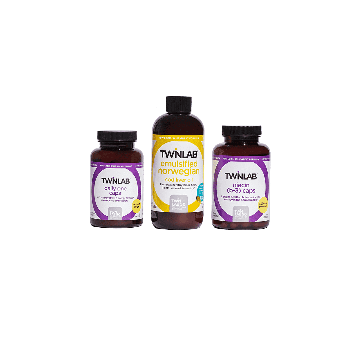 Give your heart some love! With a combination of fish oil (or essential fatty acids) and clinically tested vitamins and minerals, support your lifelong cardiovascular health and overall daily wellness with our heart health bundle.