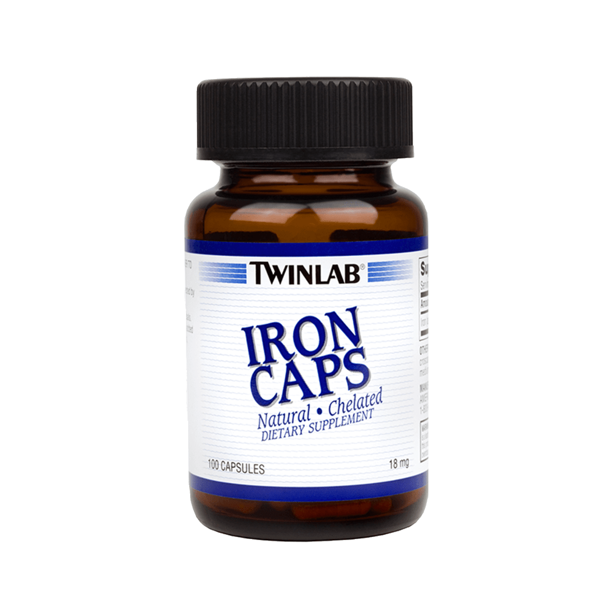 Just 1 capsule of Iron Caps delivers 18mg of your daily iron intake to revive red blood cells.