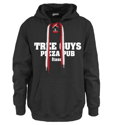 Tree Guys Face Off Hoodie