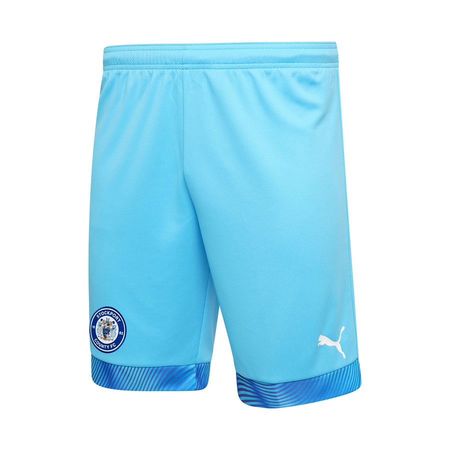 Stockport County 20/21 Home Keeper Shorts