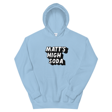 Load image into Gallery viewer, Matts High Soda Logo Hoodie