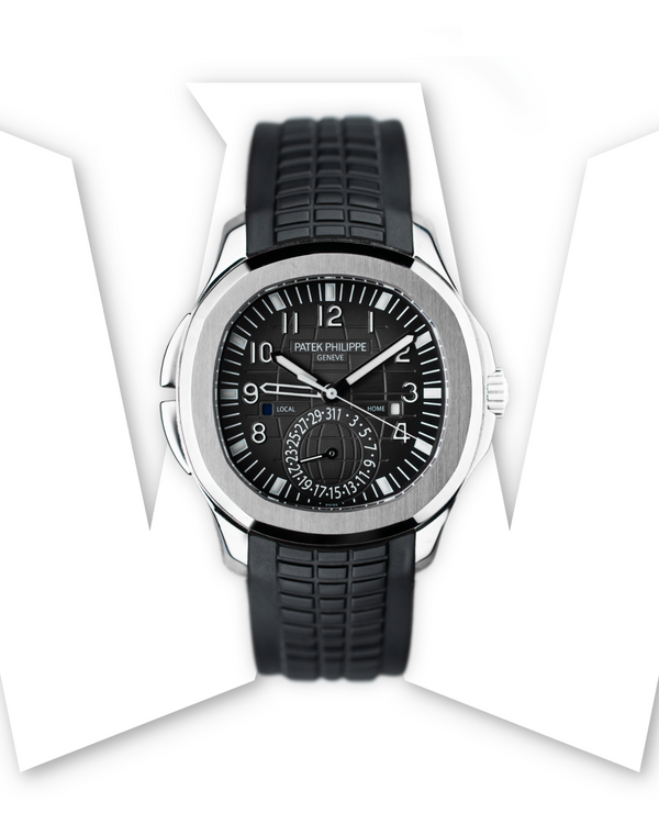 Patek Philippe Aquanaut Travel Time Steel 5164A-001
