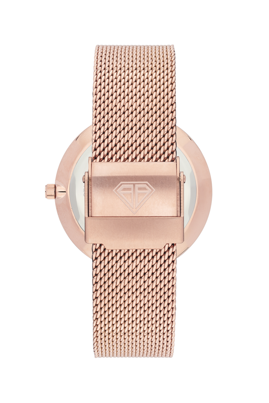 Rose Cut Rose Gold Mesh