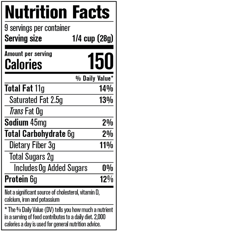 Mixed Berry Crunch Nutrition Facts