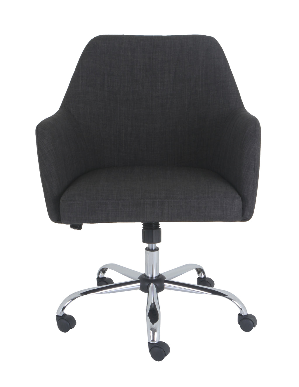 Grand&Eight NATURE Upholstered Task Chair in Dark Gray