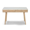 The Bianco Collection Viola 44-in Yellow Modern/Contemporary Oak Writing Desk