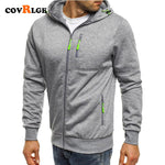 Covrlge Spring Men's Jackets Hooded Coat