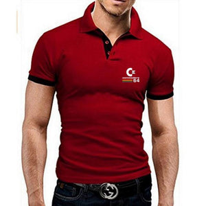 New Spring and summer Polo shirt men's casual slim