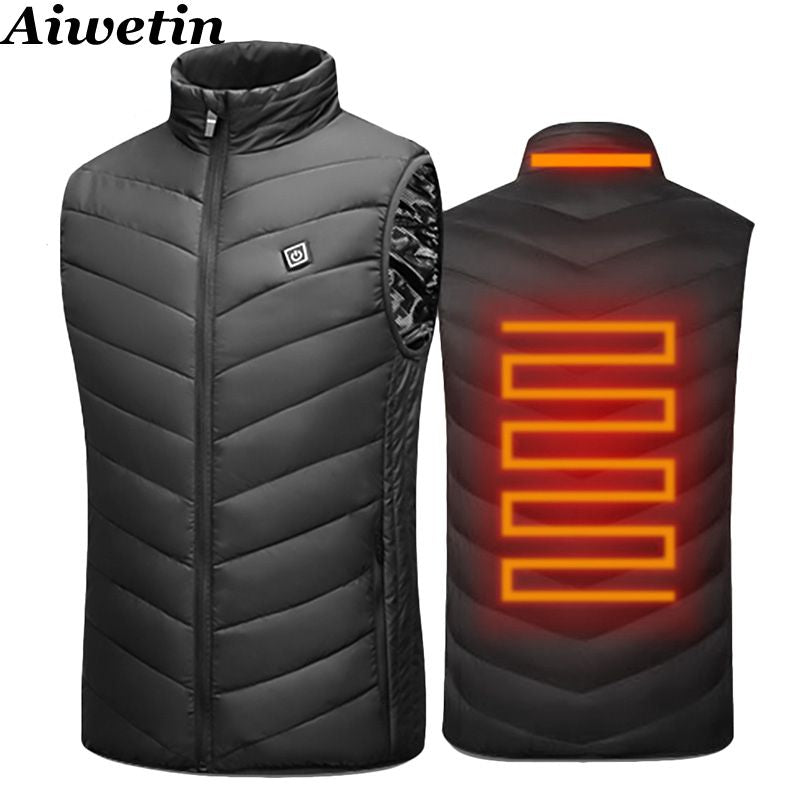 2020 Men Outdoor USB Infrared Heating Vest