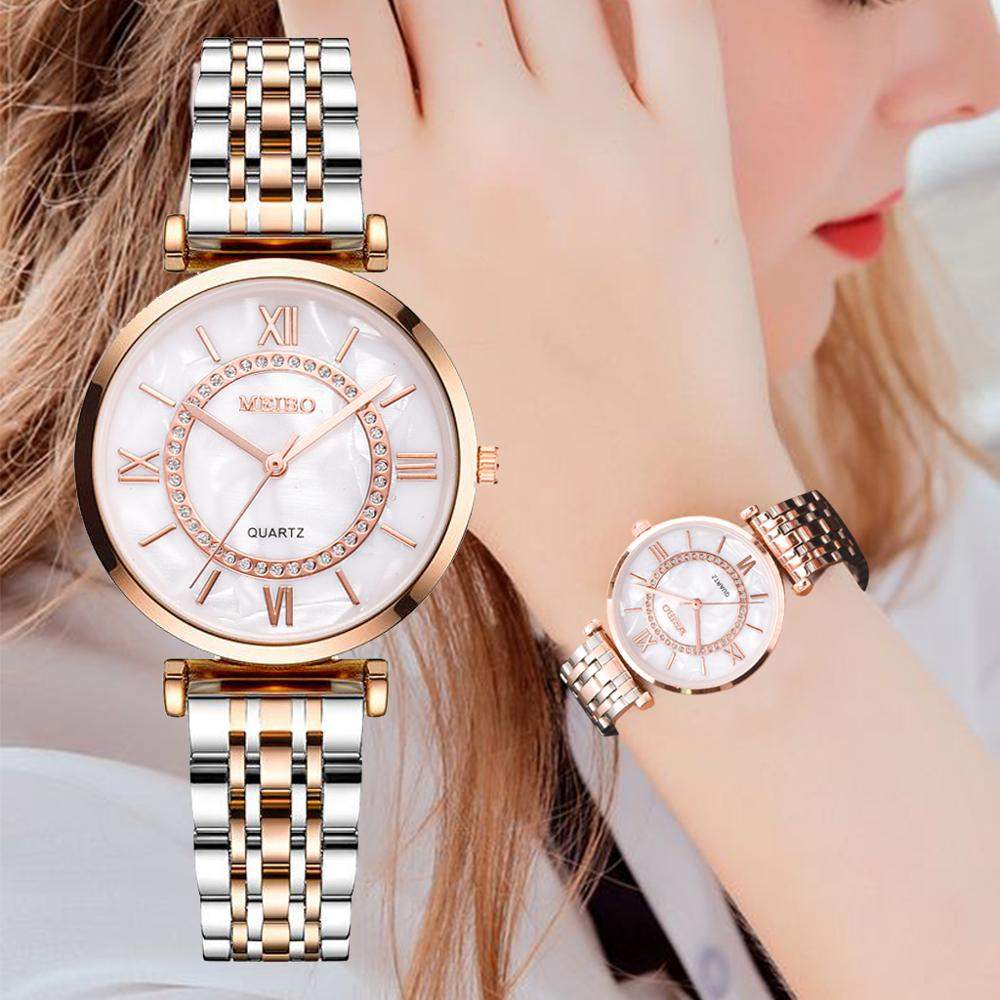 Luxury Crystal Women Bracelet Watches Top Brand Fashion Diamond Ladies Quartz