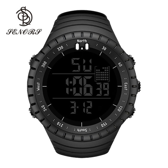 Senors Digital Watch Sport Men Outdoor Waterproof Digital Watches