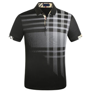 Brand New Men's Polo Shirt Men Cotton Short Sleeve