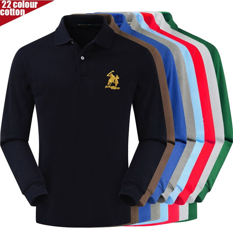 High Quality 3D PATCH 100% cotton Polo logo Shirt