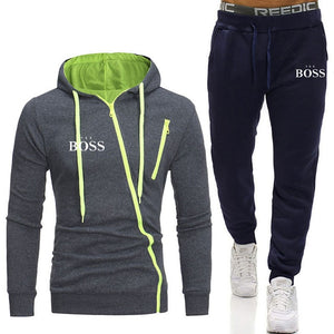 New Zipper Tracksuit Men
