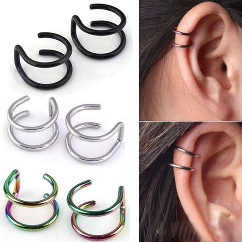 2 Pcs/set  Simple Ear Clip