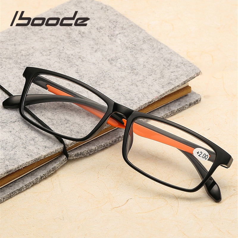 iboode TR90 Ultralight Women Men Reading Glasses
