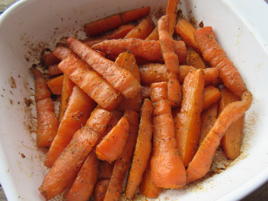 Tender and Delicious Baked Carrots