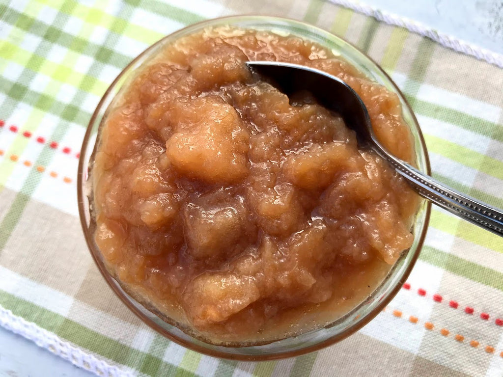 The Easiest Applesauce Ever