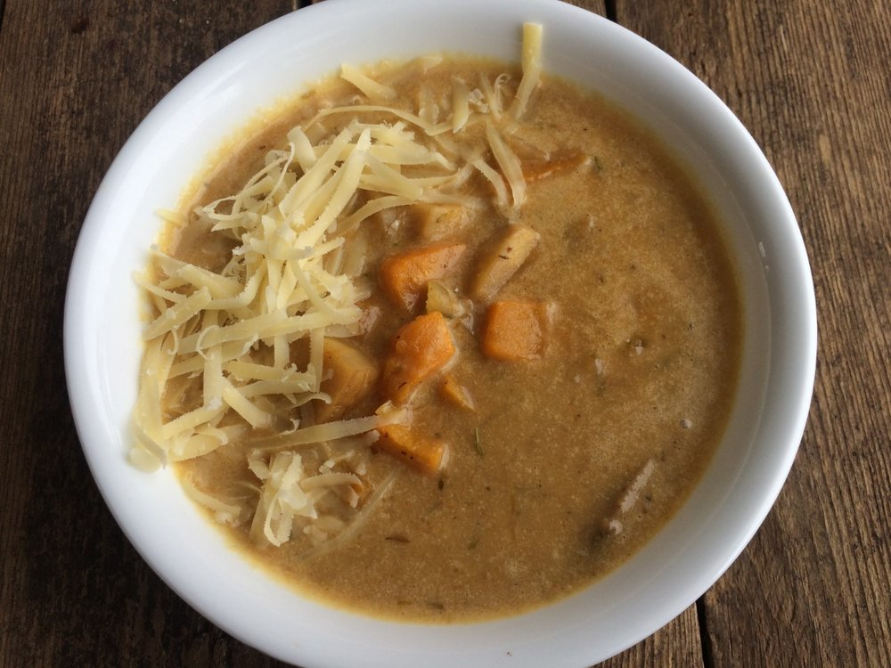 Autumn Parsnip and Butternut Soup