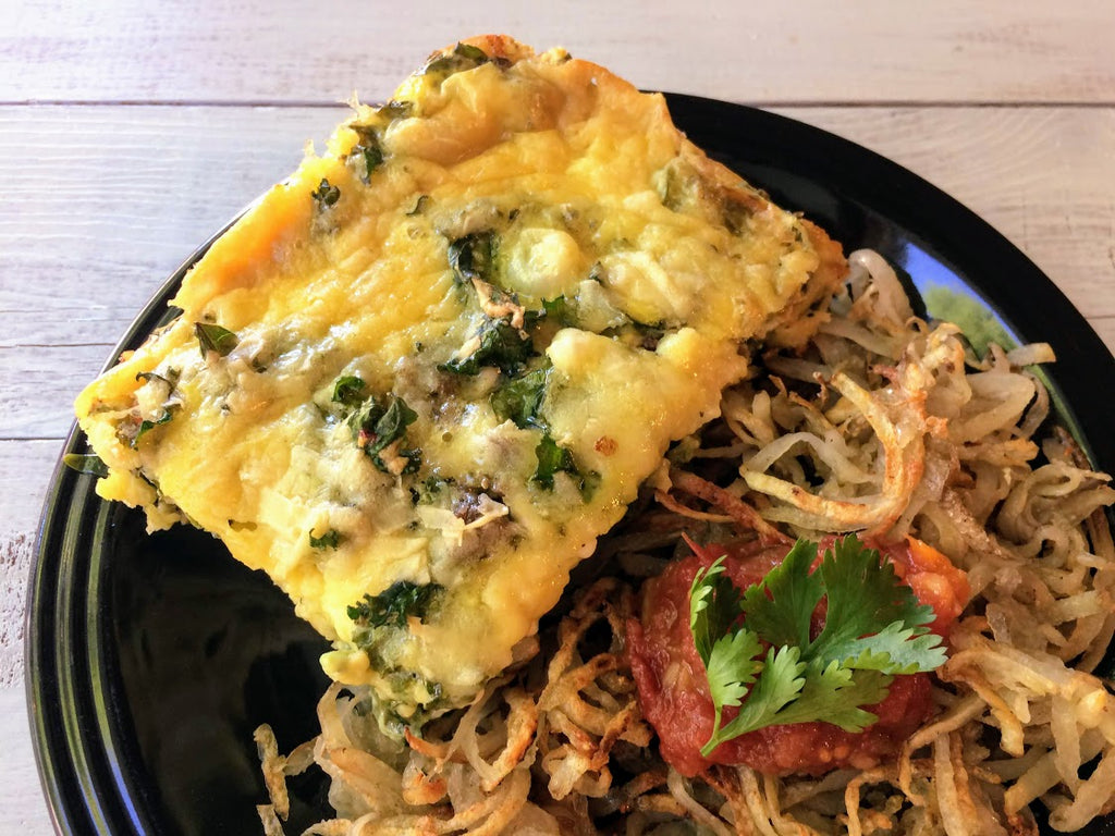 """Really Good"" Egg Casserole- High Protein and Low Carb"