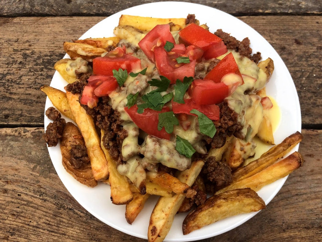 Real Food Loaded Nacho Fries
