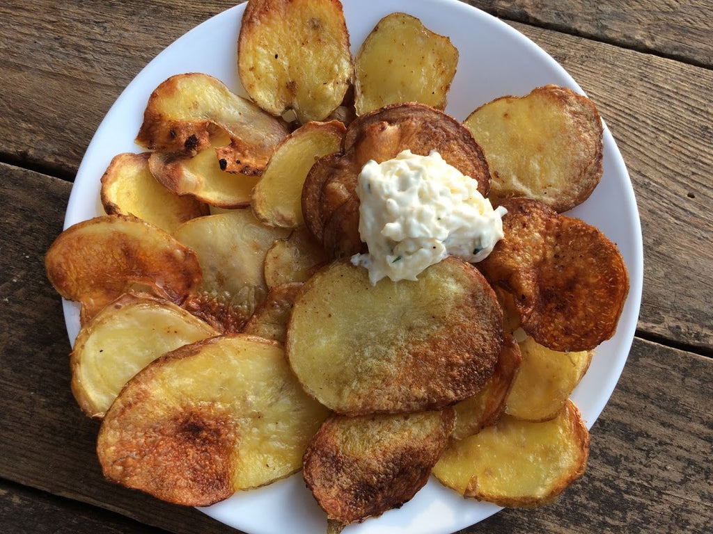 Quick and Easy Baked Potato Chips