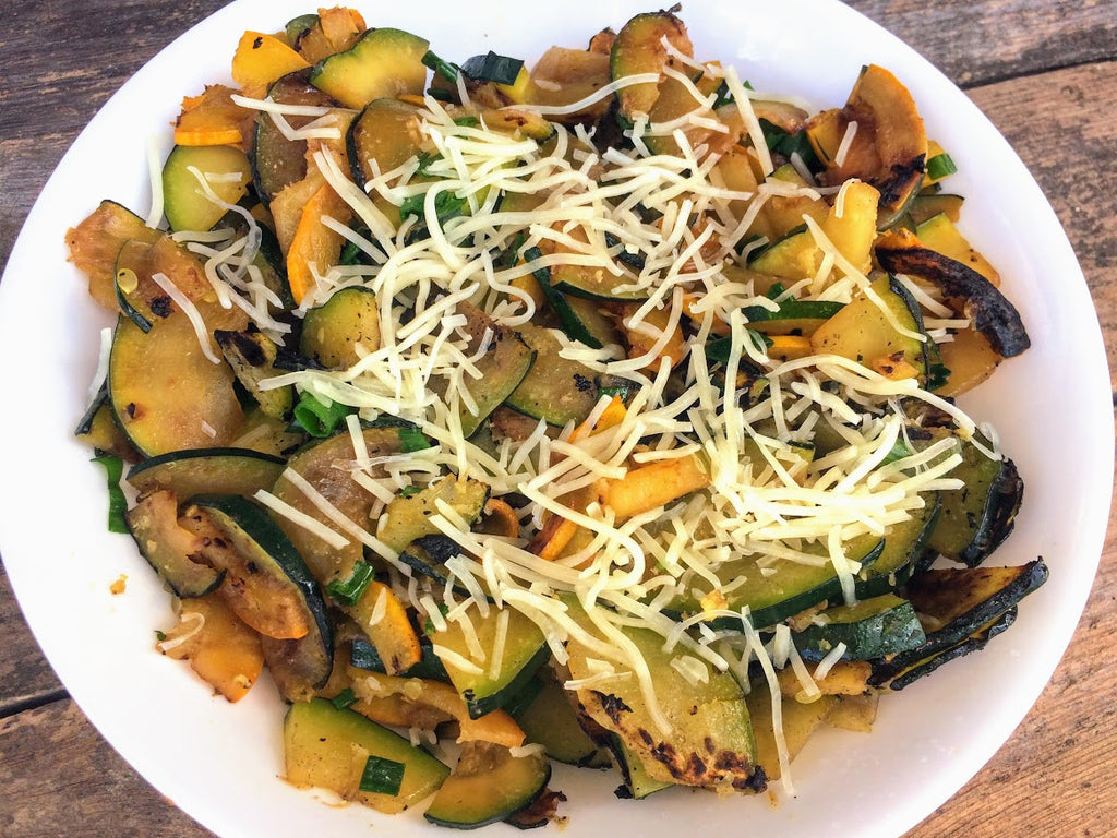 The Easiest Thing to Make with Summer Squash or Zucchini