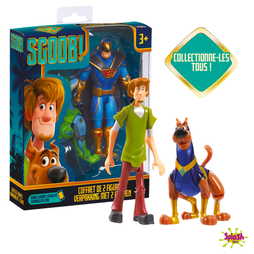Scoob Le Pack 2 figurines