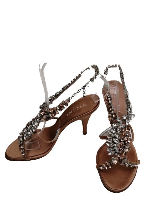 Vicini jewelled sandals uk 4