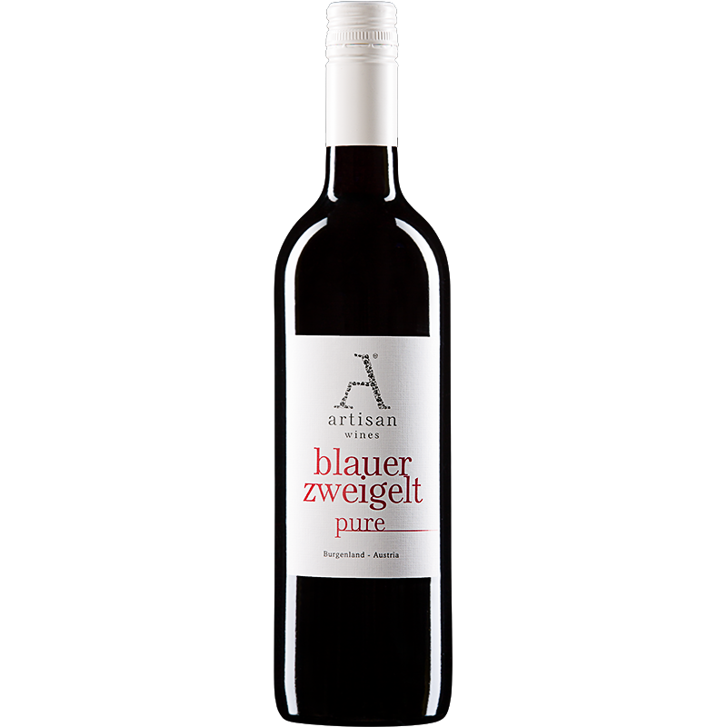 Blauer Zweigelt Pure, Artisan Wines - 90P og Best buy af Wine Enthusiast - KC Vinimport