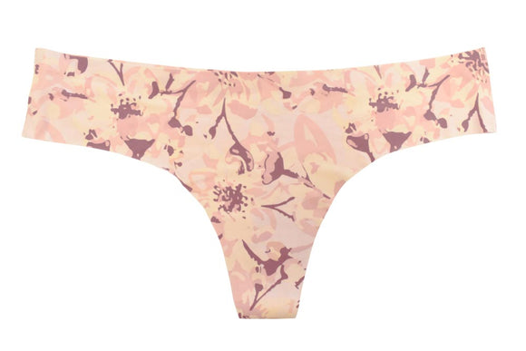 Painted Lilies Lasercut Thong